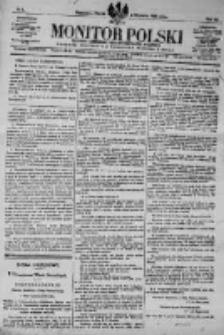 Monitor Polski. Dziennik Urzędowy Rzeczypospolitej Polskiej. 1923.01.05 R.6 nr4