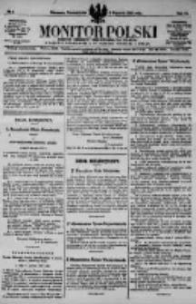 Monitor Polski. Dziennik Urzędowy Rzeczypospolitej Polskiej. 1923.01.08 R.6 nr5