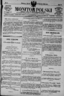 Monitor Polski. Dziennik Urzędowy Rzeczypospolitej Polskiej. 1923.01.16 R.6 nr12