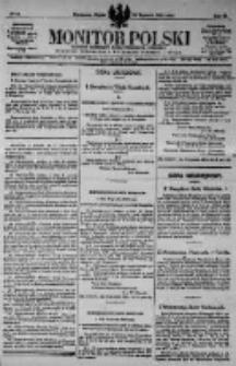 Monitor Polski. Dziennik Urzędowy Rzeczypospolitej Polskiej. 1923.01.19 R.6 nr15