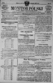 Monitor Polski. Dziennik Urzędowy Rzeczypospolitej Polskiej. 1923.01.20 R.6 nr16