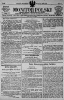 Monitor Polski. Dziennik Urzędowy Rzeczypospolitej Polskiej. 1923.01.22 R.6 nr17