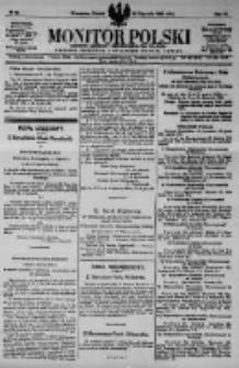 Monitor Polski. Dziennik Urzędowy Rzeczypospolitej Polskiej. 1923.01.23 R.6 nr18