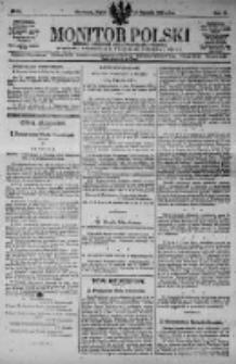 Monitor Polski. Dziennik Urzędowy Rzeczypospolitej Polskiej. 1923.01.26 R.6 nr21