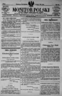 Monitor Polski. Dziennik Urzędowy Rzeczypospolitej Polskiej. 1923.02.05 R.6 nr28