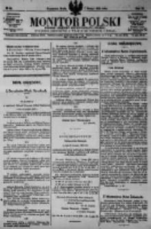 Monitor Polski. Dziennik Urzędowy Rzeczypospolitej Polskiej. 1923.02.07 R.6 nr30