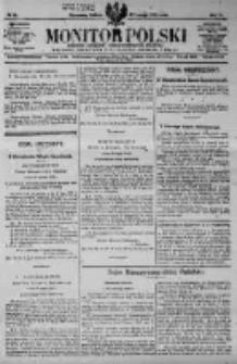 Monitor Polski. Dziennik Urzędowy Rzeczypospolitej Polskiej. 1923.02.17 R.6 nr39
