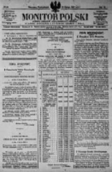 Monitor Polski. Dziennik Urzędowy Rzeczypospolitej Polskiej. 1923.02.19 R.6 nr40