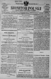 Monitor Polski. Dziennik Urzędowy Rzeczypospolitej Polskiej. 1923.02.20 R.6 nr41