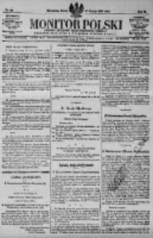 Monitor Polski. Dziennik Urzędowy Rzeczypospolitej Polskiej. 1923.02.21 R.6 nr42