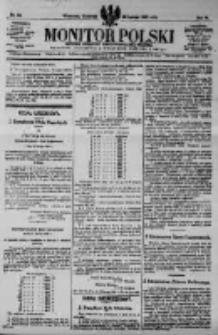 Monitor Polski. Dziennik Urzędowy Rzeczypospolitej Polskiej. 1923.02.22 R.6 nr43