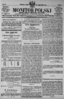 Monitor Polski. Dziennik Urzędowy Rzeczypospolitej Polskiej. 1923.02.23 R.6 nr44