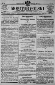 Monitor Polski. Dziennik Urzędowy Rzeczypospolitej Polskiej. 1923.02.27 R.6 nr47