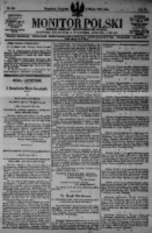 Monitor Polski. Dziennik Urzędowy Rzeczypospolitej Polskiej. 1923.03.08 R.6 nr55