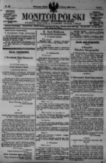 Monitor Polski. Dziennik Urzędowy Rzeczypospolitej Polskiej. 1923.03.09 R.6 nr56