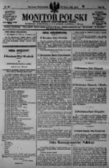 Monitor Polski. Dziennik Urzędowy Rzeczypospolitej Polskiej. 1923.03.12 R.6 nr58