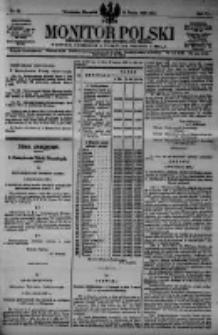 Monitor Polski. Dziennik Urzędowy Rzeczypospolitej Polskiej. 1923.03.15 R.6 nr61