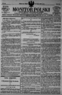 Monitor Polski. Dziennik Urzędowy Rzeczypospolitej Polskiej. 1923.03.16 R.6 nr62