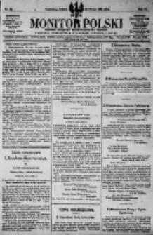 Monitor Polski. Dziennik Urzędowy Rzeczypospolitej Polskiej. 1923.03.24 R.6 nr69