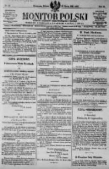 Monitor Polski. Dziennik Urzędowy Rzeczypospolitej Polskiej. 1923.03.31 R.6 nr75