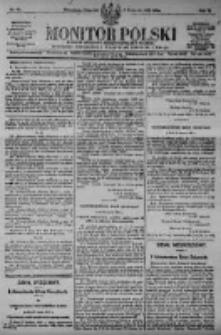 Monitor Polski. Dziennik Urzędowy Rzeczypospolitej Polskiej. 1923.04.05 R.6 nr78