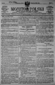 Monitor Polski. Dziennik Urzędowy Rzeczypospolitej Polskiej. 1923.04.07 R.6 nr80