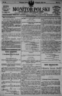 Monitor Polski. Dziennik Urzędowy Rzeczypospolitej Polskiej. 1923.04.18 R.6 nr88
