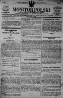 Monitor Polski. Dziennik Urzędowy Rzeczypospolitej Polskiej. 1923.04.23 R.6 nr92