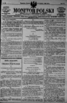 Monitor Polski. Dziennik Urzędowy Rzeczypospolitej Polskiej. 1923.04.24 R.6 nr93