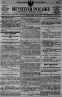 Monitor Polski. Dziennik Urzędowy Rzeczypospolitej Polskiej. 1923.04.26 R.6 nr95