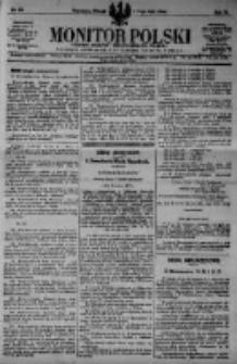 Monitor Polski. Dziennik Urzędowy Rzeczypospolitej Polskiej. 1923.05.01 R.6 nr99