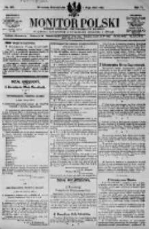 Monitor Polski. Dziennik Urzędowy Rzeczypospolitej Polskiej. 1923.05.07 R.6 nr103