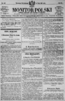 Monitor Polski. Dziennik Urzędowy Rzeczypospolitej Polskiej. 1923.05.14 R.6 nr107