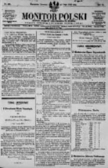 Monitor Polski. Dziennik Urzędowy Rzeczypospolitej Polskiej. 1923.05.17 R.6 nr110