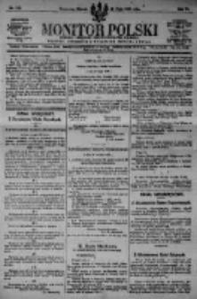 Monitor Polski. Dziennik Urzędowy Rzeczypospolitej Polskiej. 1923.05.22 R.6 nr113