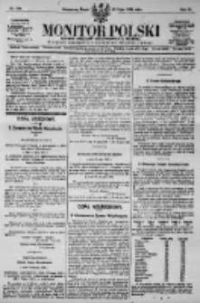 Monitor Polski. Dziennik Urzędowy Rzeczypospolitej Polskiej. 1923.05.23 R.6 nr114