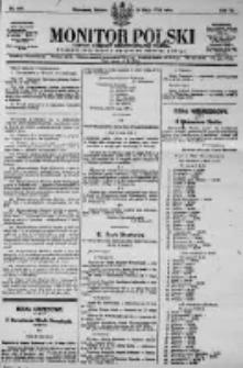 Monitor Polski. Dziennik Urzędowy Rzeczypospolitej Polskiej. 1923.05.26 R.6 nr117