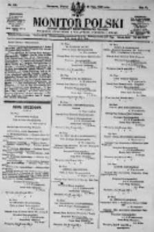 Monitor Polski. Dziennik Urzędowy Rzeczypospolitej Polskiej. 1923.05.29 R.6 nr119