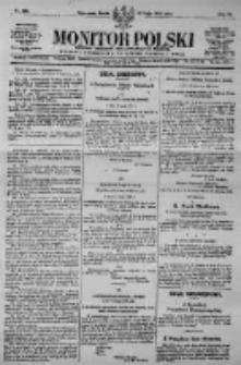 Monitor Polski. Dziennik Urzędowy Rzeczypospolitej Polskiej. 1923.05.30 R.6 nr120