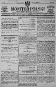 Monitor Polski. Dziennik Urzędowy Rzeczypospolitej Polskiej. 1923.06.01 R.6 nr121