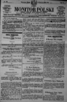 Monitor Polski. Dziennik Urzędowy Rzeczypospolitej Polskiej. 1923.06.08 R.6 nr127