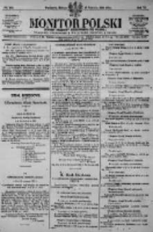 Monitor Polski. Dziennik Urzędowy Rzeczypospolitej Polskiej. 1923.06.23 R.6 nr140