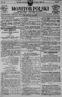 Monitor Polski. Dziennik Urzędowy Rzeczypospolitej Polskiej. 1923.06.28 R.6 nr144