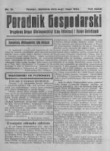 Poradnik Gospodarski. Pismo Tygodniowe. 1924.05.04 R.35 nr18