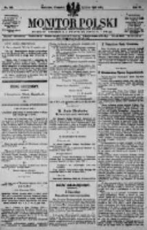 Monitor Polski. Dziennik Urzędowy Rzeczypospolitej Polskiej. 1923.07.05 R.6 nr149