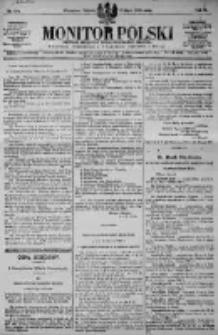 Monitor Polski. Dziennik Urzędowy Rzeczypospolitej Polskiej. 1923.07.07 R.6 nr151