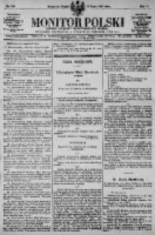 Monitor Polski. Dziennik Urzędowy Rzeczypospolitej Polskiej. 1923.07.13 R.6 nr156