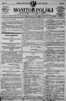 Monitor Polski. Dziennik Urzędowy Rzeczypospolitej Polskiej. 1923.07.16 R.6 nr158