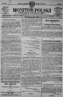 Monitor Polski. Dziennik Urzędowy Rzeczypospolitej Polskiej. 1923.07.26 R.6 nr167