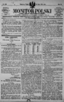 Monitor Polski. Dziennik Urzędowy Rzeczypospolitej Polskiej. 1923.07.27 R.6 nr168